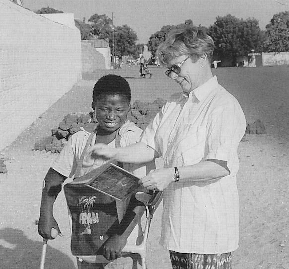 15 Jahre Senegalhilfe-Verein e.V. Behinderte