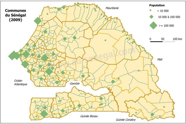 Senegal Bevölkerung