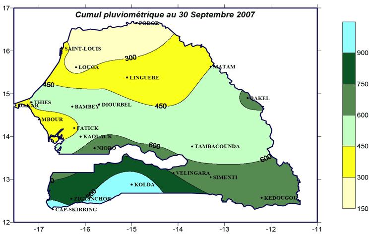 Senegal Klima