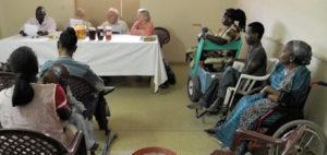 Behindertenzentrum Tivavouane Sitzung