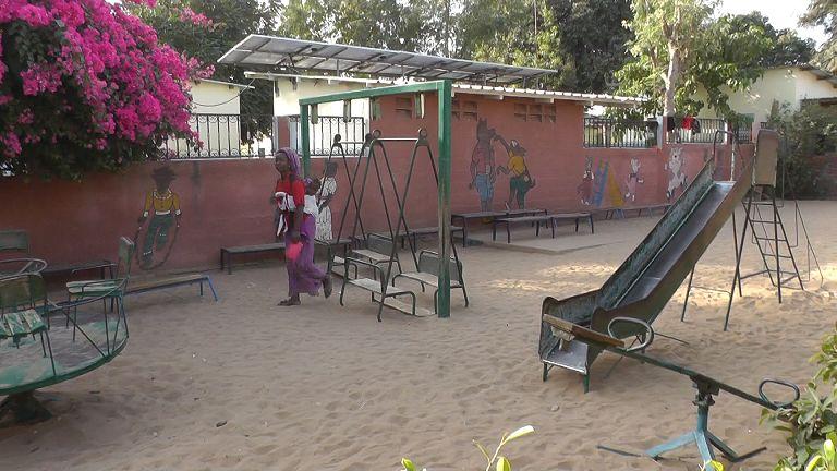 Behindertenzentrum Mbour Kindergarten