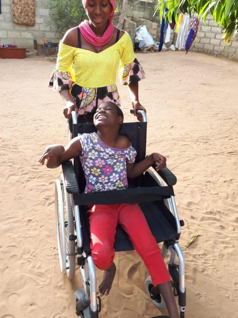 Behinderte Rollstuhl