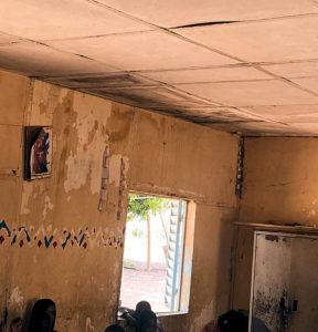 Schule Peycouck renovierungsbedürftig