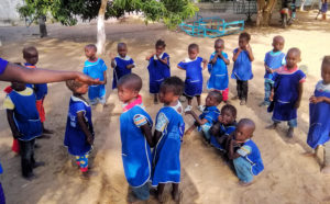Vorschule in Ndianda